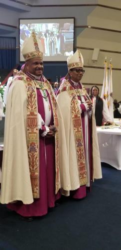 Bishops Julia and Trevor